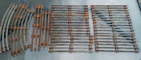 17 Vintage O Scale Metal Lionel 3-Rail Straight Train Tracks Longueuil / South Shore Greater Montréal Preview