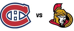 OTTAWA SENATORS AT MONTREAL - THIS SATURDAY