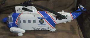Tonka Rescue Force Police Helicopter With Lights and Sounds