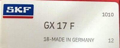 Gx 17 F Skf Spherical Plane Bearing