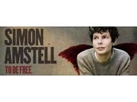 Simon Amstell at Bath Komedia 8th Nov 8pm. 2 tickets