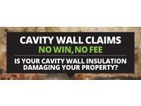 Cavity Wall Damp Claim Now