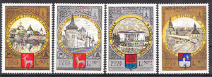 RUSSIA-1978-MOSCOW-80-OLYMPIC-GAMES-SET-MNH-Vf