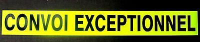 Convoi Exceptionnel Fluorescent Sign Medium Sticker