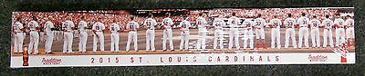 ST LOUIS CARDINALS 2015 TEAM CANVAS PRINT! WALL HANGING SGA MAKE OFFER! 5000929