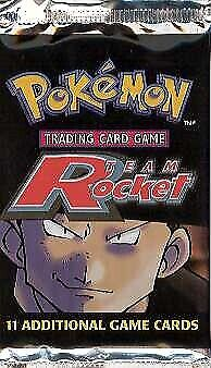 WOTC Pokemon Team Rocket Sealed Booster Pack