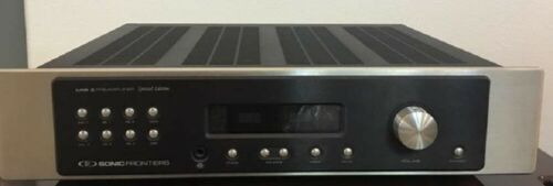 SONIC FRONTIERS LINE 3 FACTORY SE PREAMP IN GREAT CONDITION WITH REMOTE & BOX!