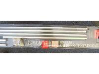 Croydex 6-Way Modular Alluminium Shower Curtain Rail