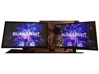Acer 27 inch PC LCD Monitor (x2)
