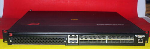 Brocade Ni-ces-2024f-ac Switch With Dual Power Supplies
