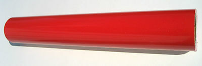 Red Ultra Metallic Sign Vinyl Plotter Cutter Purchased By The Linear Ft