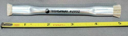 "TechSpray 2032-1 Tech Brush, 1/2"" x 3/8"" Horse Hair Bristles, Authentic Version"