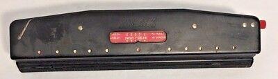 Vintage Punchodex Adjustable 3 Hole Paper Punch Dialmatic Model No P-203 Nos Usa
