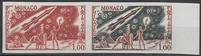 Monaco 1964 ** Mi.772 Color Proof ESSAY Weltraum Space Espace Ägypten Egypt