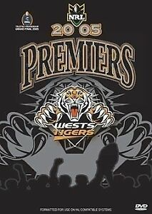 NRL-Premiers-2005-Wests-Tigers-DVD-New