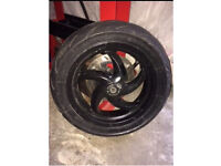 Gilera runner front wheel (typhoon)