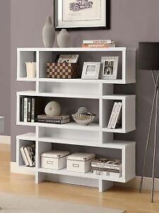 BOOKSHELF IN NATURAL RECLAIMED COMES IN DIFFERENT COLORS