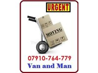 House Flat Office Removal Man & Van Hire Bike Piano Mover Luton Delivery/ Shifting Rubbish Clearance