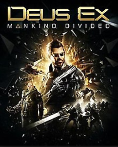 PS4 GAME DEUX EX MANKIND DIVIDED