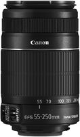 CANON EF-S 55-250MM F/4-5.6 IS II LENS - LENTILLE CAMÉRA CANON