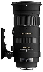 SIGMA 50-500mm f4-6.3 HSM OS APO DG - PENTAX - NEW - 3 YEAR SIGMA UK WARRANTY