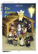 Nativity Knitting Pattern