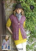 Womens Knitted Waistcoat