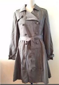 New Anne Weyburn Ladies Trench Coat, size 16