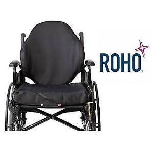 NEW ROHO WHEELCHAIR BACK SUPPORT AG6-1918AL-1 132874205 PROFESSIONAL SAMPLE AGILITY MAX SEAT CUSHION WHEELCHAIR ACCES...