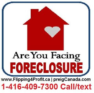Are you facing foreclosure?