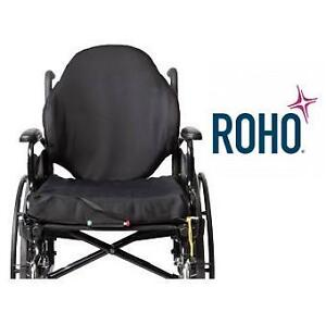 NEW ROHO WHEELCHAIR BACK SUPPORT - 132874205 - PROFESSIONAL SAMPLE AGILITY MAX SEAT CUSHION WHEELCHAIR ACCESSORIES
