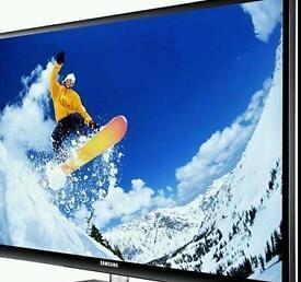 "Samsung 43"" black plasma tv"
