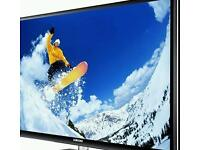 "Samsung 43"" black plasma tv"