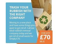 SAME DAY SERVICES RUBBISH REMOVAL HOUSE CLEARANCE OFFICE WOOD CARDBOARD ANY WASTE FREE QUOTE TODAY??