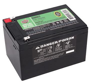 Interstate Sealed Lead Acid AGM Large Deep Cycle Battery DCM0012