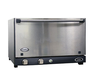 Cadco Ov-013ss Convection Oven Electric Countertop 1.34 Cubic Feet Half-size