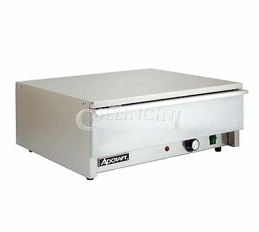 Adcraft Bun Warmer Hot Dog Heated Drawer Commerical - Bw-450