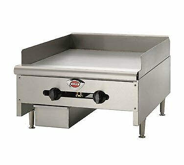 Wells Hdg-4830g 48 Countertop Gas Griddle