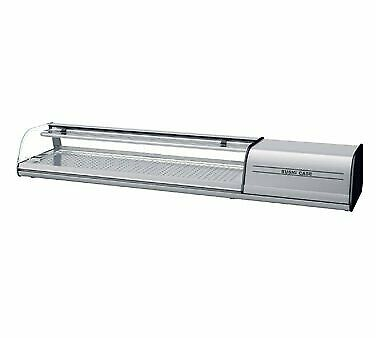 Infrico Usa Ict-vsu63r 64 Refrigerated Sushi Display Case