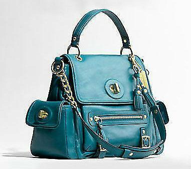 Coach Satchel Teal Handbags Amp Purses Ebay