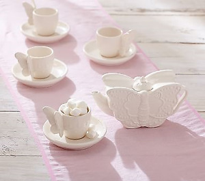 Pottery Barn Butterfly Tea Set