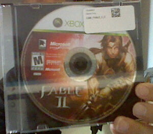 Fable II, Xbox 360 (disk only)