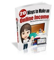 FREE eBook on 20 Ways To Make An Online Income!