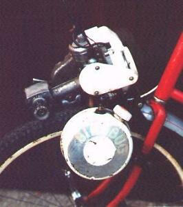 Bike bug gas motor