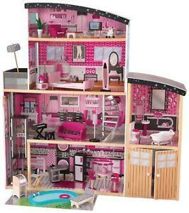Barbie doll house ebay for Barbie doll house with swimming pool