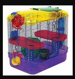 2 Hamster Cages & Accessories