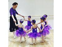 Pre school ballet and hip hop dance classes