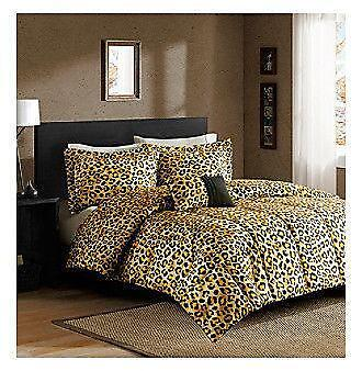Cheetah comforter ebay - Cheetah bedspreads ...