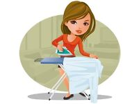 Domestic ironing and laundry service
