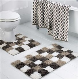 Extra Thick Bathmat Set